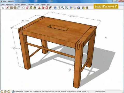 sketchup die grundlagen youtube. Black Bedroom Furniture Sets. Home Design Ideas
