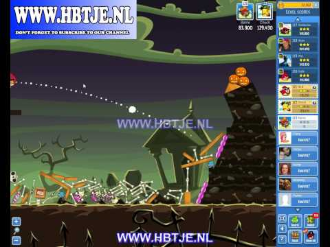 Angry Birds Friends Tournament Level 5 Week 76 halloween (tournament 5) no power-ups