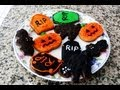 Galletas de Chocolate para Halloween