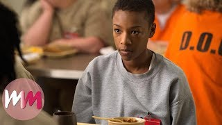 Top 10 Shocking Orange Is The New Black Moments (MATURE)