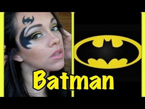Batman ☽ Maquillaje inspirado en el caballero de la noche