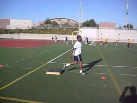 Triple Jump - Lift Box drill
