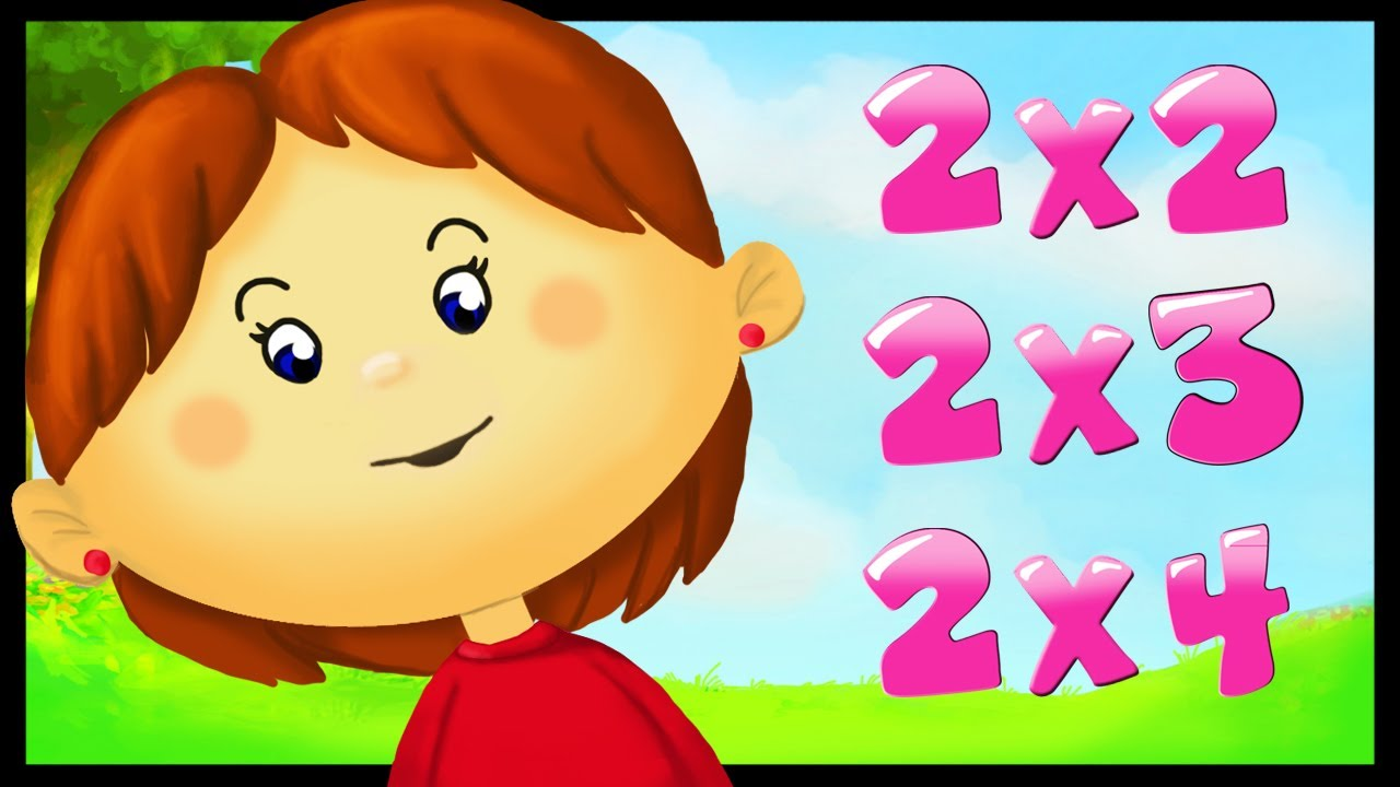 Apprendre les tables de multiplication youtube - Imprimer table de multiplication ...