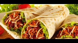 Burritos Mexicano de pollo y queso