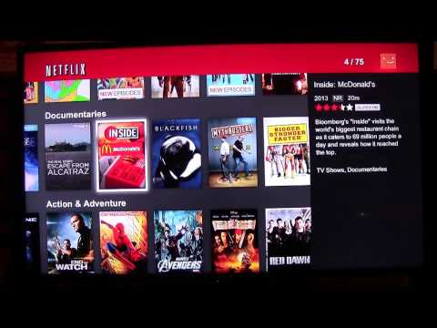 Netflix on Amazon Fire TV