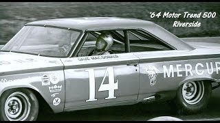 1964 NASCAR Motor Trend 500 Dave MacDonald 24th In Bill