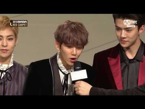 [HD] 161202 EXO 엑소 Red Carpet (full) @ 2016 MAMA Mildred ReMasterson