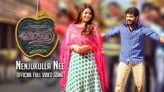 Nenjukulle Nee Vadacurry Full Video Song Jai, Swathi