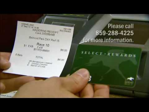 Using your Keeneland Select card to wager at Keeneland