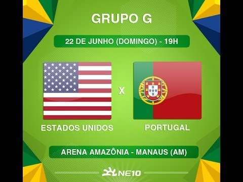 Estados Unidos X Portugal Copa Do Mundo Fifa 2014