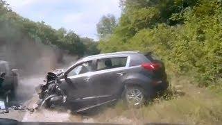 Подборка ДТП с видеорегистраторов 89 \ Car Crash compilation 89