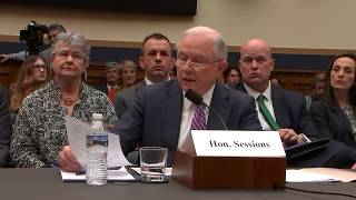 Rep. Jeffries Eviscerates Sessions at Judiciary Committee Hearing