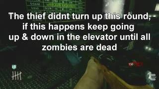 Call Of Duty- Black Ops Cheats Zombie For Xbox 360.