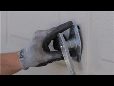 Garage Door Help How To Replace A Garage Door Lock Or