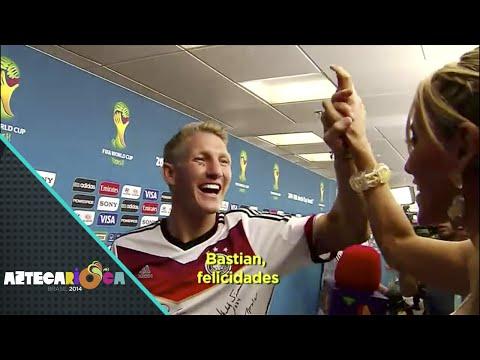 Inés Sainz entrevistó a los campeones del mundo