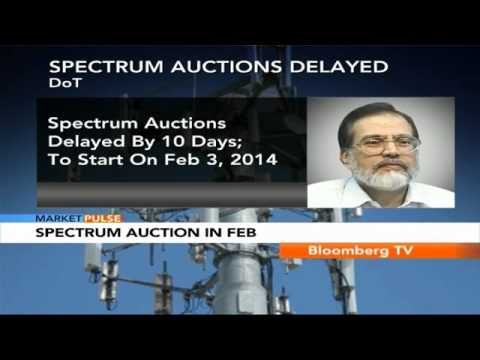 Market Pulse- Spectrum Auctions Delayed