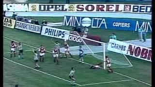22J :: Sporting - 2 x Braga - 0 de 1988/1989