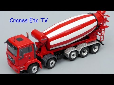 Cranes Etc TV: Conrad MAN TGS + Liebherr HTM 1204 Truck Mixer Review