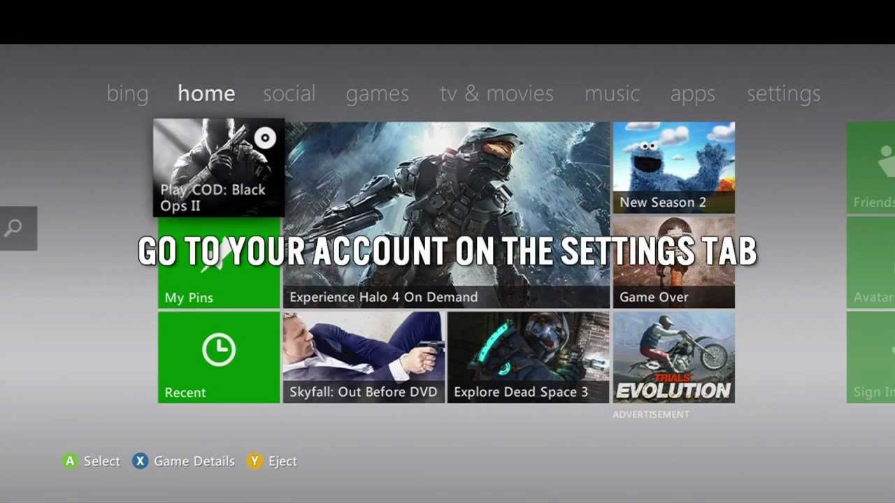 how to check your xbox live account