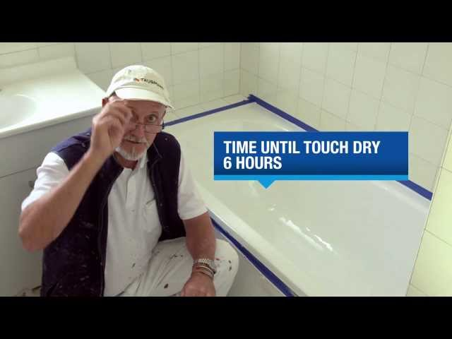 How to Paint a Bath