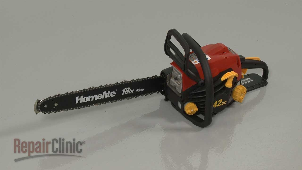 Homelite Chainsaw Disassembly – Chainsaw Repair Help  YouTube