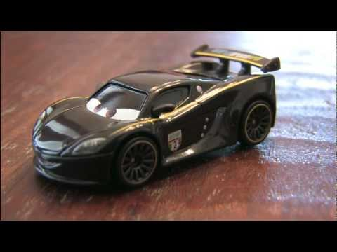 CGR Garage - LEWIS HAMILTON CARS 2 toy review