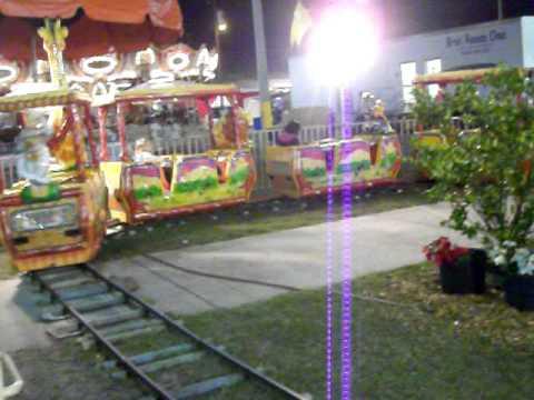 Safari train At Strawberry Festival