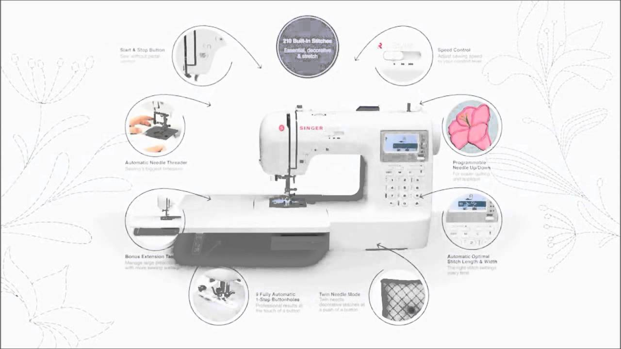 singer 9100 professional sewing machine