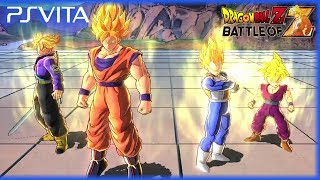 PS Vita Dragon Ball Z Battle Of Z Official Gameplay