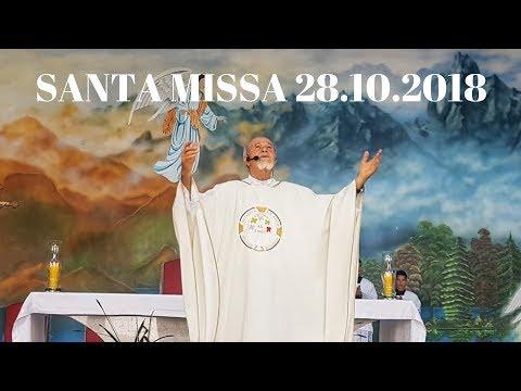 Santa Missa | 28.10.2018 | Padre José Sometti | ANSPAZ