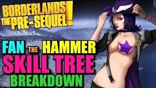 """Borderlands The Pre-Sequel Nisha's """"Fan The Hammer"""" Skill"""