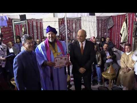 الممثل العالمي محمد قيسي في ضيافة ادريس بوجوالة