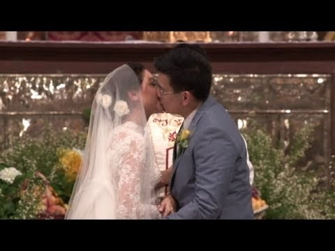 BE CAREFUL WITH MY HEART: Richard & Maya Wedding Kiss