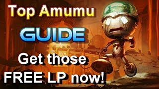 Top Amumu Guide The QQ Master League Of Legends