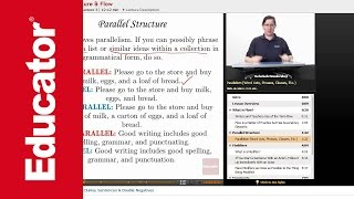 """Parallel Structure & Flow"" 