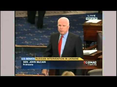 McCain: Vladimir Putin is on the move
