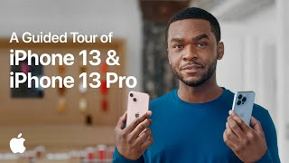 A Guided Tour of iPhone 13 & iPhone 13 Pro | Apple
