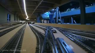 Schattenbahnhof Spur H0 Anlage Dürnstein von Josef Brandl