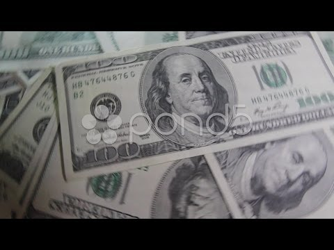 Hypnotic money. Stock Footage