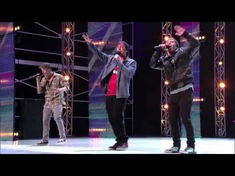 THE X FACTOR USA 2012 - Emblem 3's Audition (Sunset Boulevard)