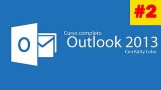Outlook 2013: La interfaz, barras y herramientas