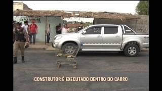 Homem � executado a tiros dentro do pr�prio carro no Bairro Xangril�