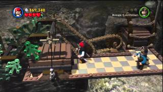 Lego Pirates Of The Caribbean,On Stranger Tides Stage 5