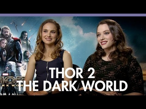 Natalie Portman, Kat Dennings 'Thor: The Dark World': 'Thor's been a jerk to Jane'