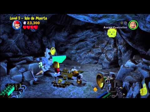 Lego Pirates of the Caribbean: Level 5 Isla De Muerta - Story Walkthrough - HTG