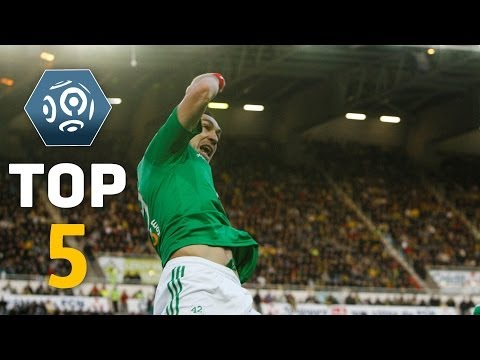 Ligue 1 - Week 37 : Top goals - 2013/2014