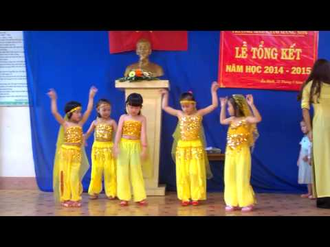 Múa Alibaba trường mẫu giáo Măng Non - Cư Kuin- năm học 2014-2015