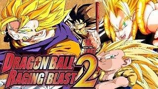 Dragon Ball Raging Blast 2: Vegito VS Gotenks & Gogeta