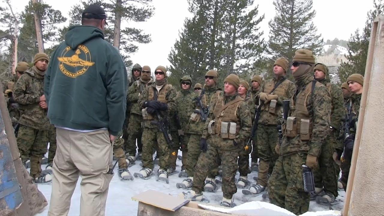 Marines Winter Training 2013 Youtube