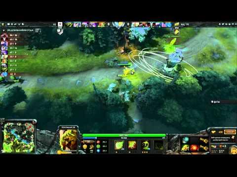 iG vs Na`Vi - Game 3, Winner Bracket Semifinals - The International - Russian Commentary